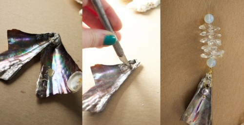 Charming DIY Mermaid Trinket Dangles