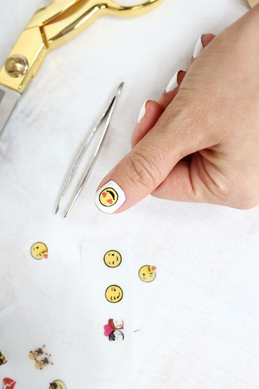 Picture Of cheeky and fun diy emoji nail art to try  2