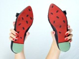 cheerful-and-bold-diy-watermelon-shoes-5