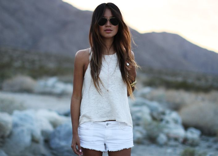 Picture Of chic all white summer looks  1