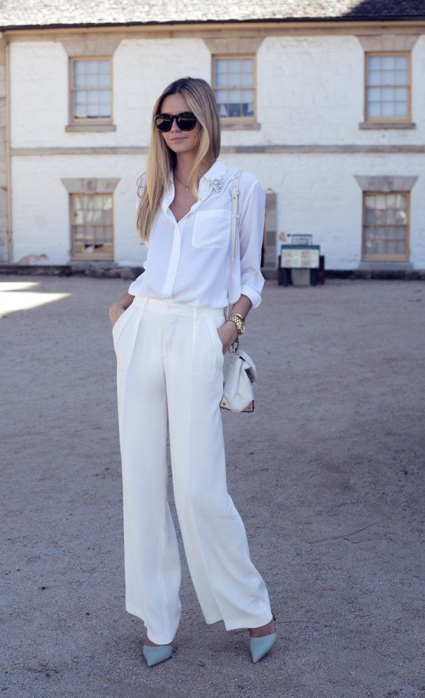 Picture Of chic all white summer looks  14