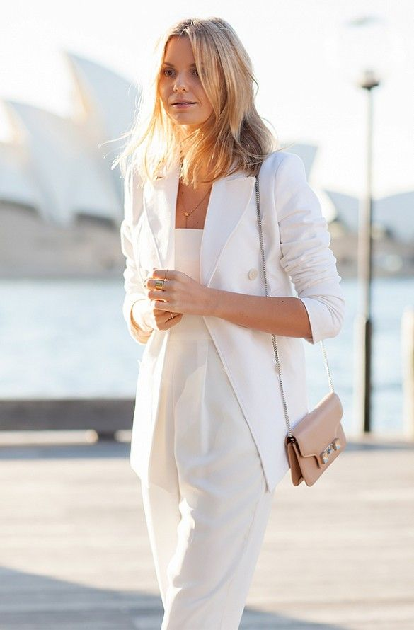 Picture Of chic all white summer looks  19