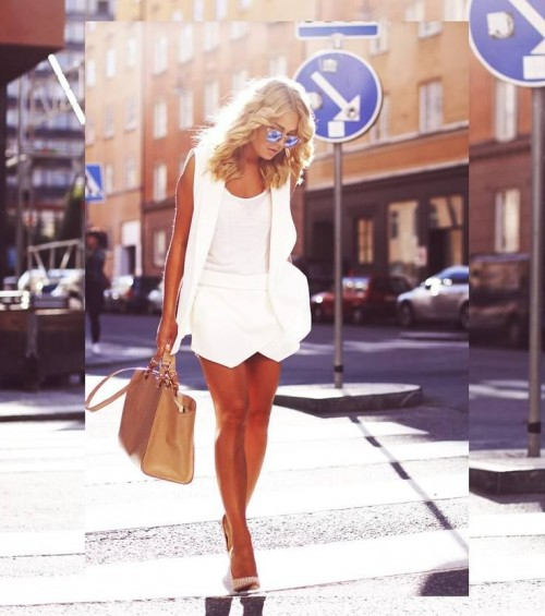 Chic All White Summer Looks To Steal