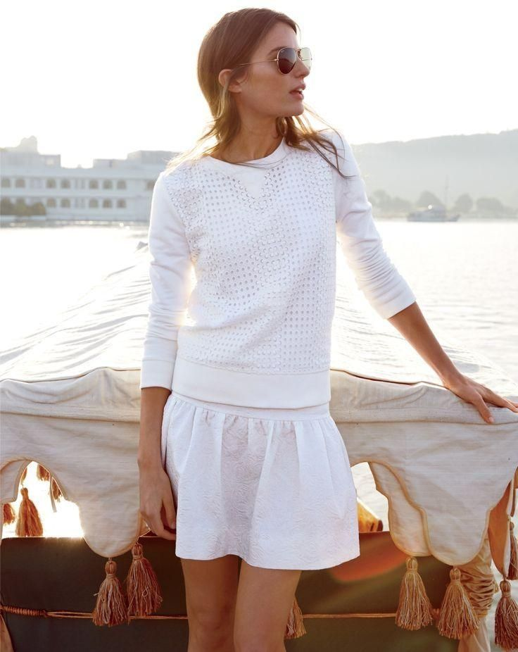Picture Of chic all white summer looks  8