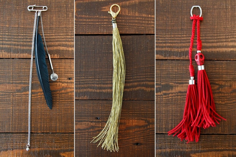Picture Of chic and awesome diy bag tassels  1