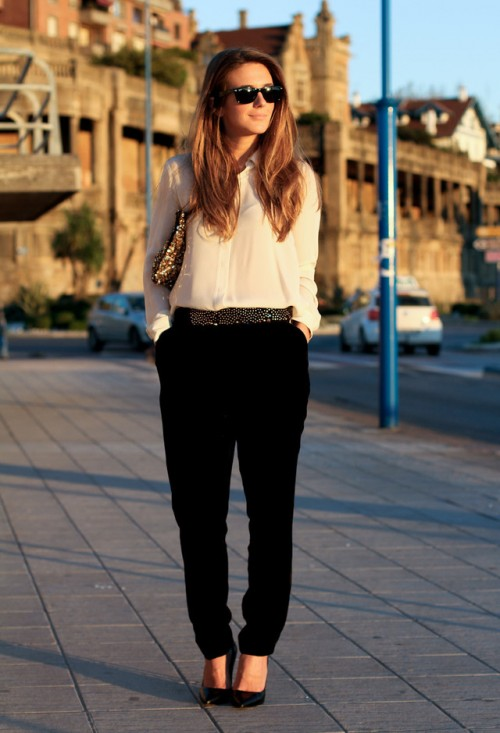 Chic And Stylish Fall Work Looks For Ladies