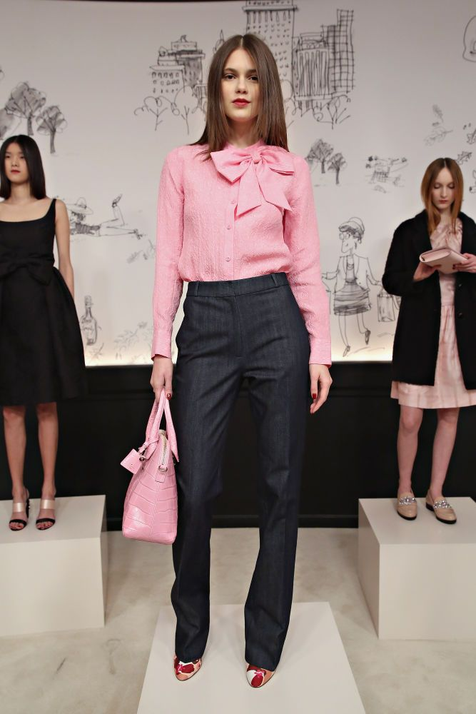 Picture Of chic and stylish fall 2015 work looks for ladies  14