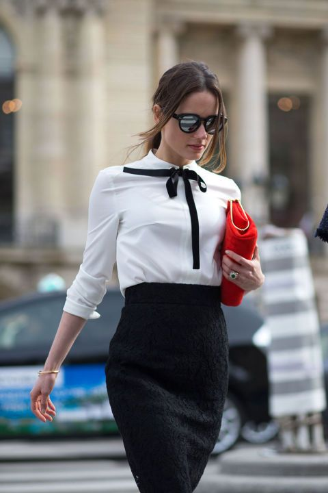 Picture Of chic and stylish fall 2015 work looks for ladies  20