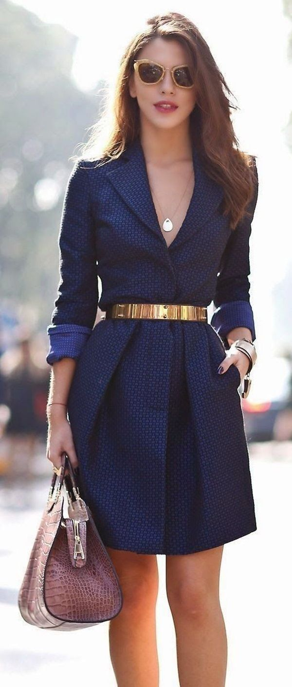 Picture Of chic and stylish fall 2015 work looks for ladies  21