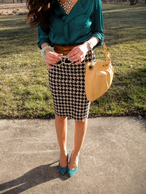 Picture Of chic and stylish fall 2015 work looks for ladies  30