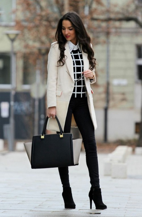 28 Chic And Stylish Fall Work Looks For Ladies