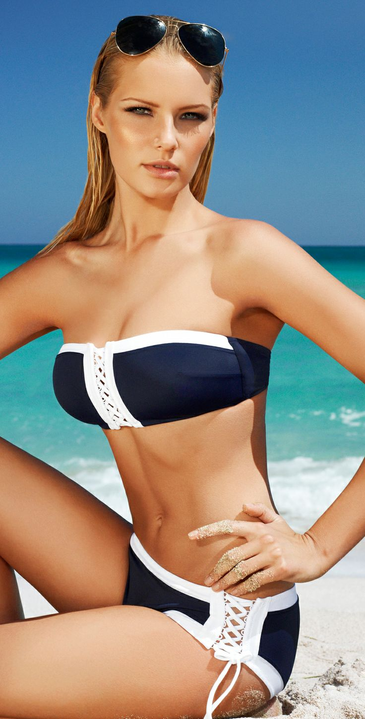 Picture Of chic and timeless nautical swimsuits to rock  13