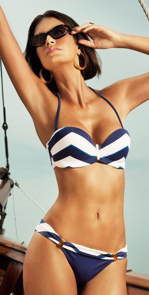 Picture Of chic and timeless nautical swimsuits to rock  7