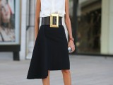 chic-black-and-white-work-outfits-for-girls-17