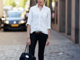 chic-black-and-white-work-outfits-for-girls-18