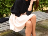 chic-black-and-white-work-outfits-for-girls-21