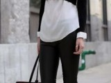 chic-black-and-white-work-outfits-for-girls-26