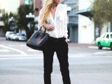 chic-black-and-white-work-outfits-for-girls-5