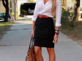 chic-black-and-white-work-outfits-for-girls-7