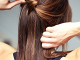 chic-diy-cascading-knotted-half-updo-4
