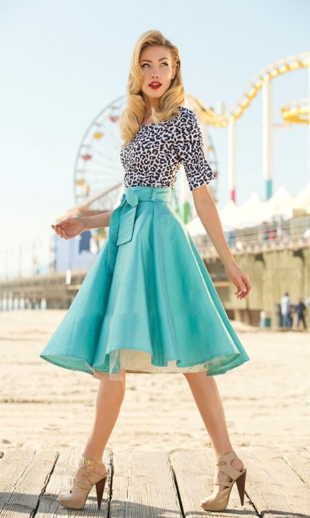 24 Chic Spring Retro Outfit Ideas That Every Girl Will Like | Styleoholic