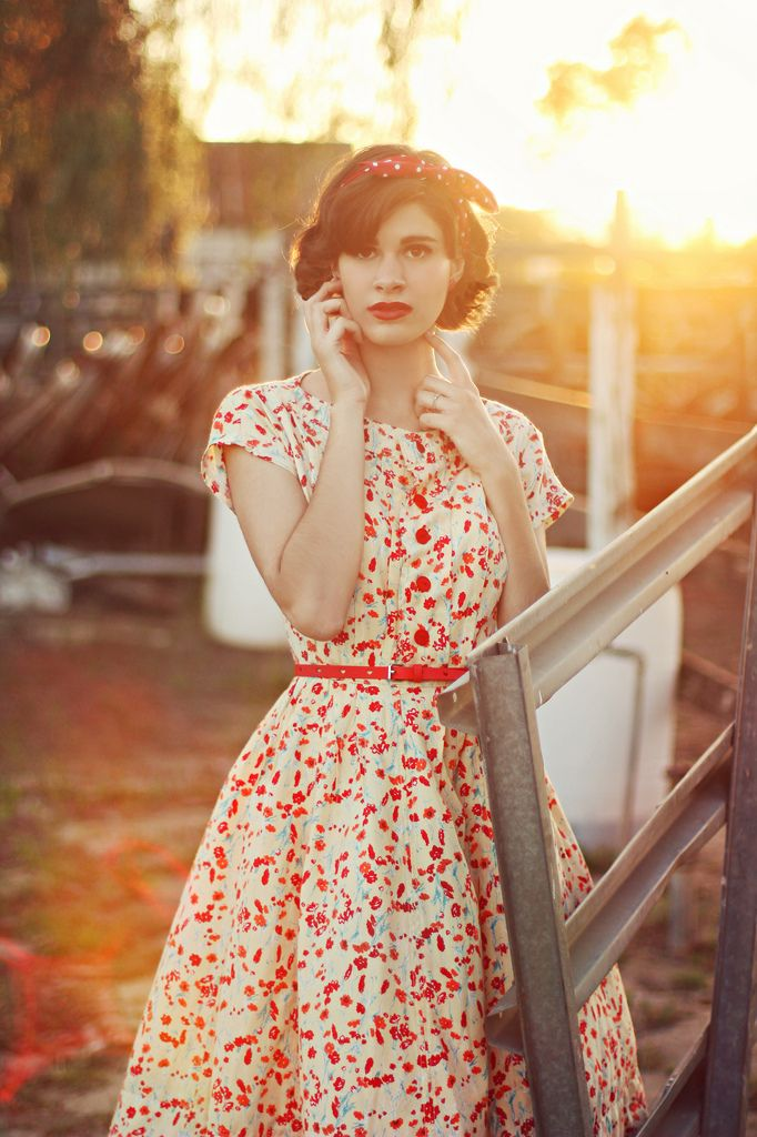 Picture Of chic retro outfit ideas that every girl will like  24