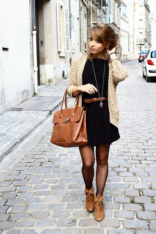 Picture Of chic ways to style your little black dress  1
