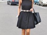 chic-ways-to-style-your-little-black-dress-10