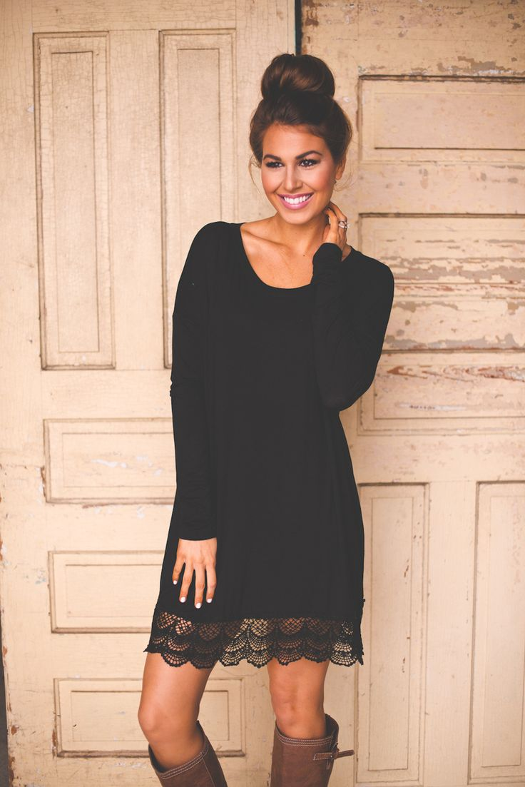 Picture Of chic ways to style your little black dress  12