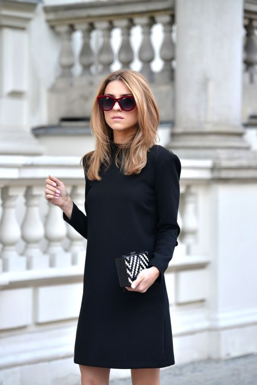 Picture Of chic ways to style your little black dress  16