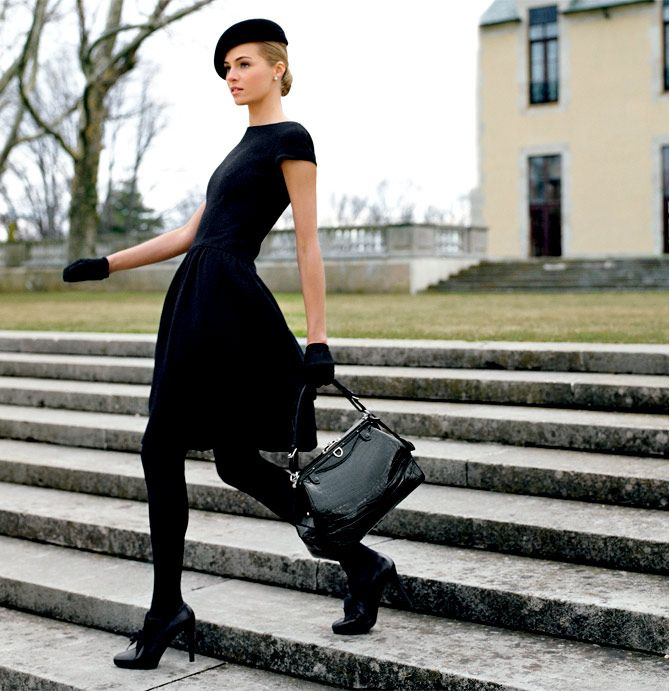 Picture Of chic ways to style your little black dress  23