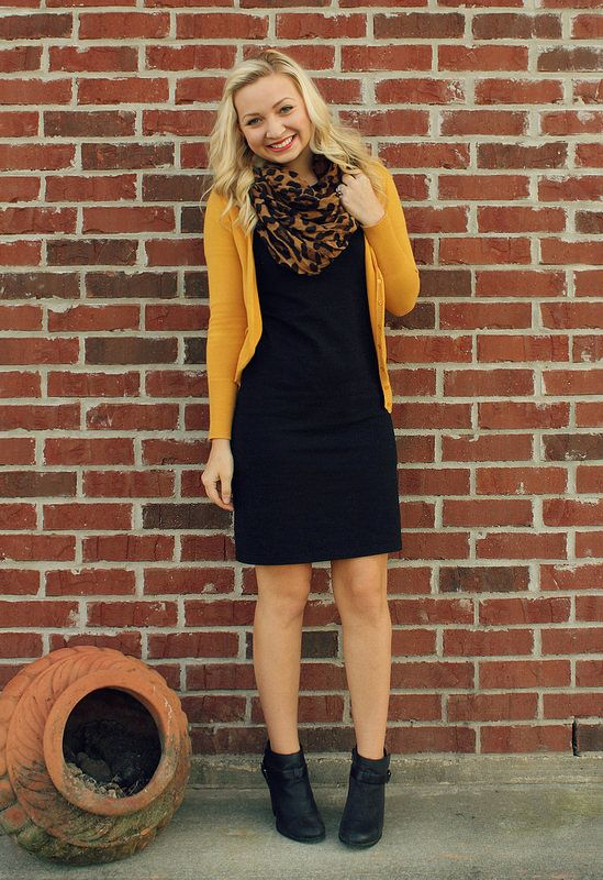 Picture Of chic ways to style your little black dress  4
