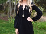 chic-ways-to-style-your-little-black-dress-7
