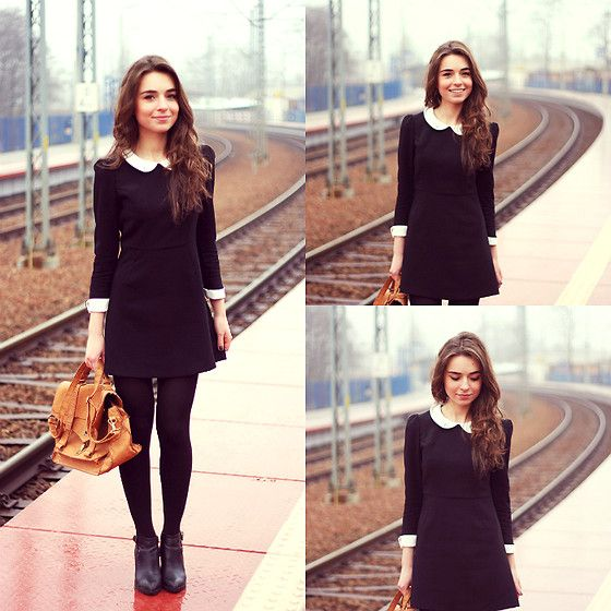 Picture Of chic ways to style your little black dress  8