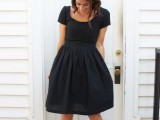 chic-ways-to-style-your-little-black-dress-9