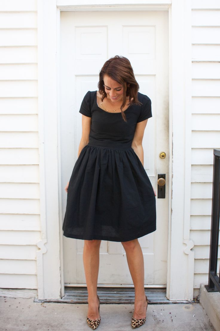Picture Of chic ways to style your little black dress  9