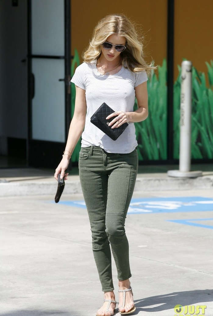 Picture Of classy looks with a white t shirt  10