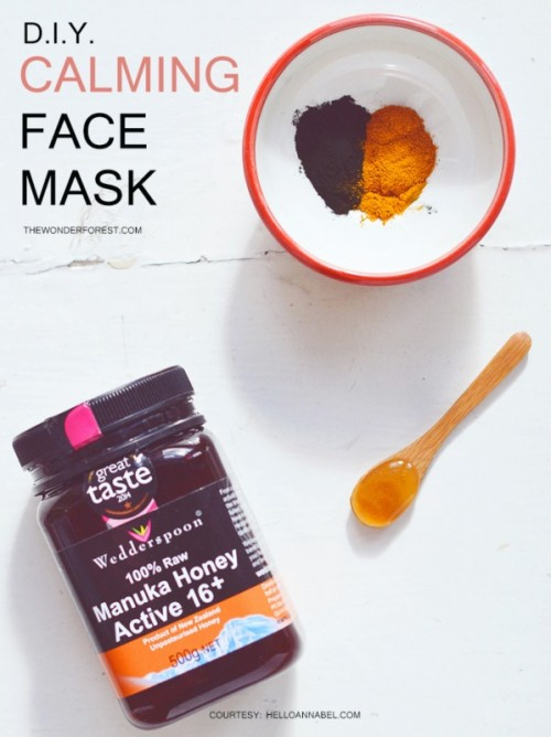 Clearing DIY Spirulina Face Mask For Sensitive Skin