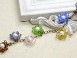 colorful-diy-beaded-flower-charm-bracelet-1