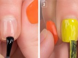 colorful-diy-electric-circles-nail-art-to-try-2