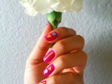 colorful-diy-geometric-nail-art-with-contact-paper-1