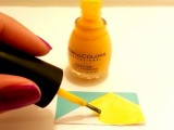 colorful-diy-geometric-nail-art-with-contact-paper-2