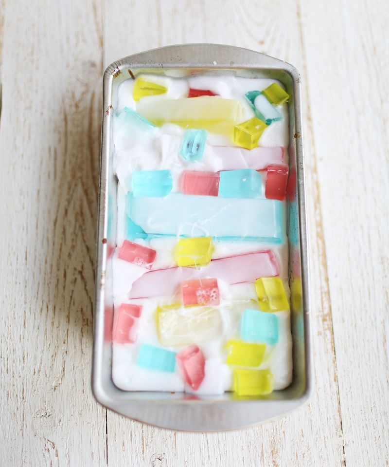 Picture Of colorful diy stained glass soap  5