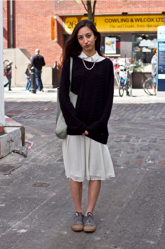 Picture Of comfy and cozy oversized sweater outfits for fall  12