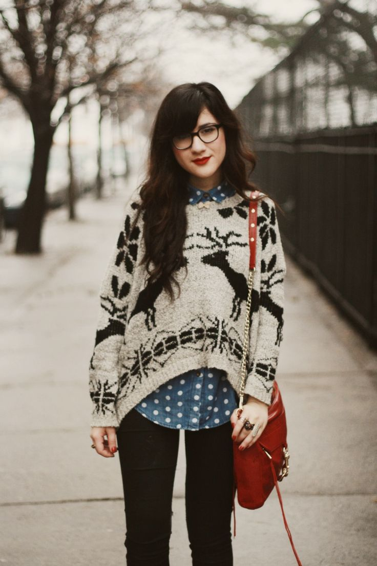 Picture Of comfy and cozy winter holiday looks  11