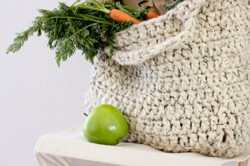 Comfy And Cute DIY Sturdy Market Tote