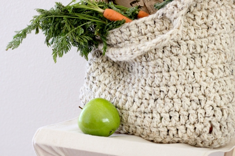 Picture Of comfy and cute diy sturdy market tote  3