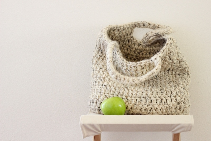 Picture Of comfy and cute diy sturdy market tote  4