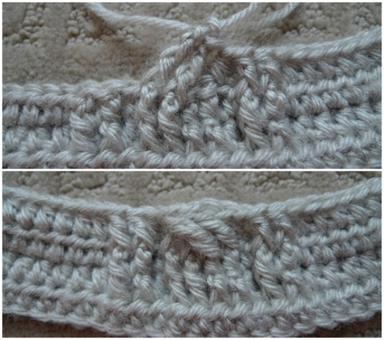 Picture Of comfy diy cable knit wrist warmers  2