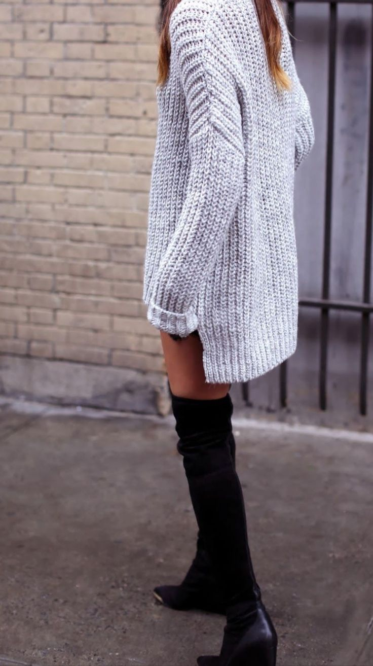 Picture Of comfy sweater dresses for cold weather  10